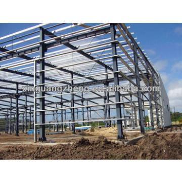 Steel structure industrial metal roofing shed/warehouse/whrkshop/poultry shed/car garage/aircraft/building