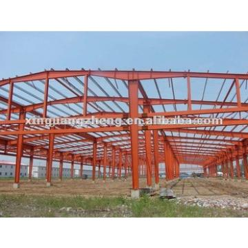 Steel H beam frame metal carport /poutry shed/labor dormitry