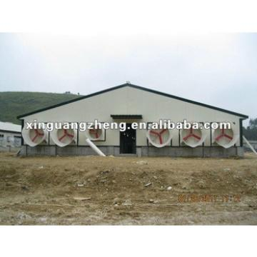 Prefab sandwich panel wall and roofing Steel structure chicken shed