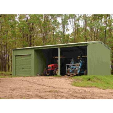 cheap farm and machinery steel shed