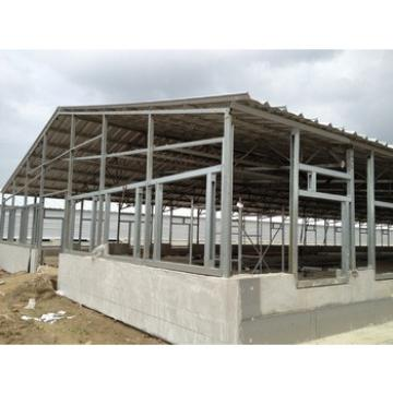 prefabricated steel structure pig farm shed