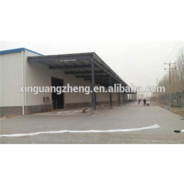 prefabricated agricultural storage shed