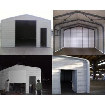 BV Certification prefab steel warehouse shed