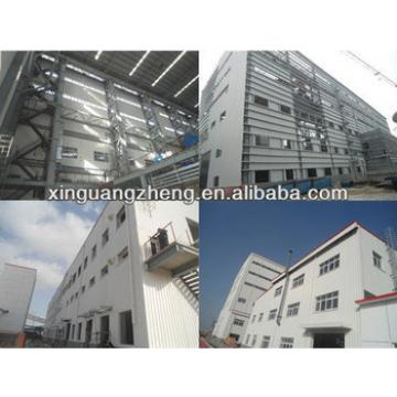 light prefab structural portal steel frame hangar building