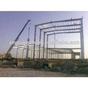 galvanized two story steel structure warehouse for sale