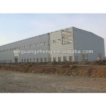 light prefab portal steel frame building warehouse garage design and construction