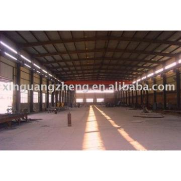 light steel structural prefabricated warehouse design and installation