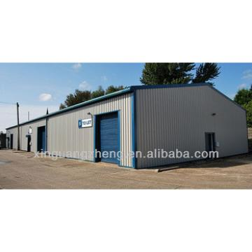 Low cost modular steel prefabricated shed