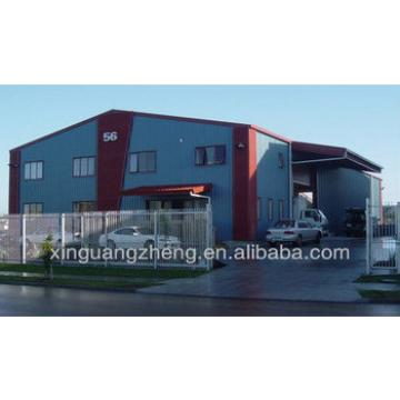 Prefabricated portal frame building