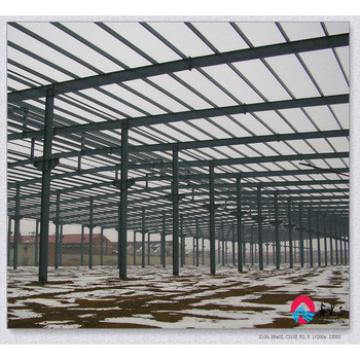 pre engineered light structural steel shed