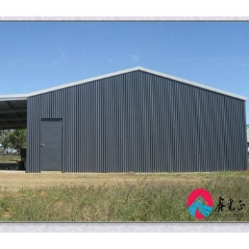 Pre-built light steel shed