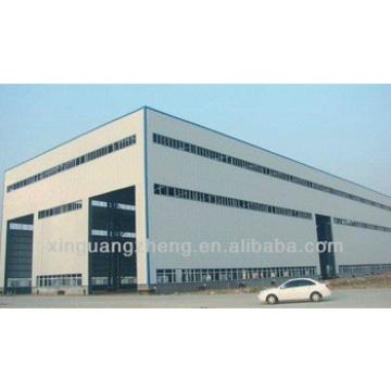light steel industrial storage shed