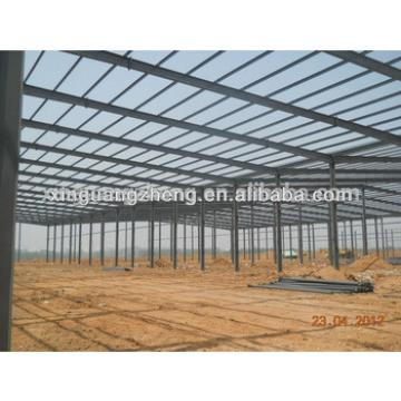 light steel structure portal frame steel warehouse building