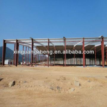 steel structure farm sheds design and construction with galvanized steel sheets
