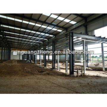 large span light steel structure metal sheds for sale