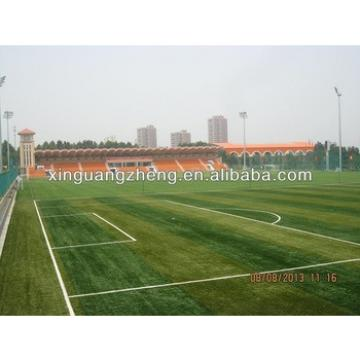 prefabricated steel colum steel shed storage industrial layout football field house