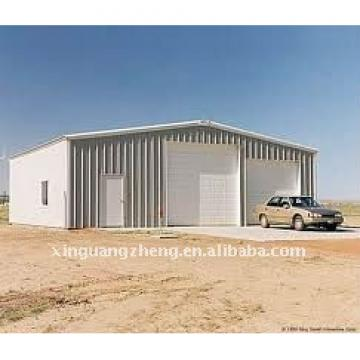 light steel structural prefabricated insulated workshop, warehouse, shed