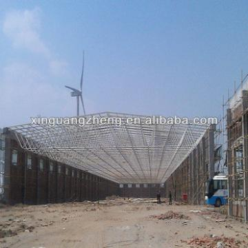high span light teel structural gymnasium warehouse worshop design and construction