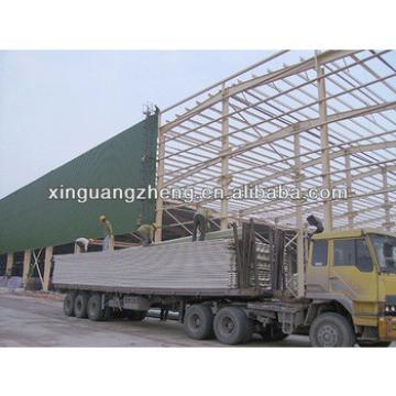 steel bar warehouse storage design prefab warehouse