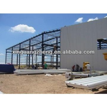 Germany large span steel warehouse prefab steel warehouse