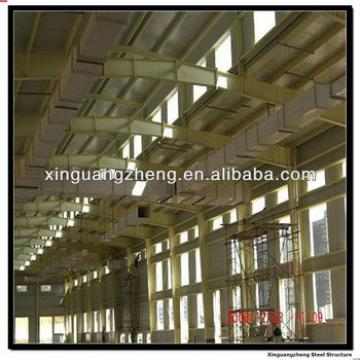 pre assembled steel structure warehouse with construction design