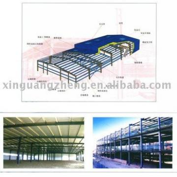 light steel structural PREFABRICATED WAREHOUSE construction design and installation