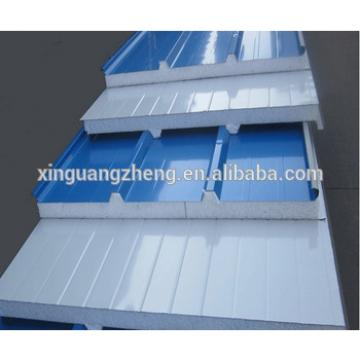 prefabricated wall panels light building material for Algerian warehouse