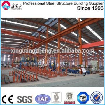 Steel frame structure building prefabricated warehouse