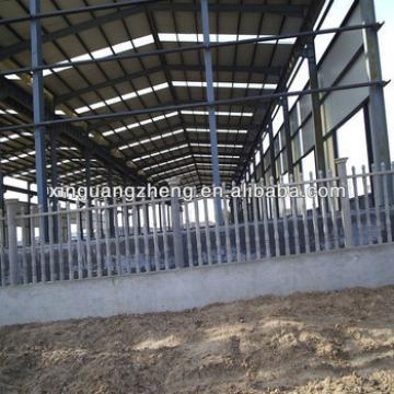 50mx16mx5.72m light steel structure warehouse with fiberglass wool sandwich panel