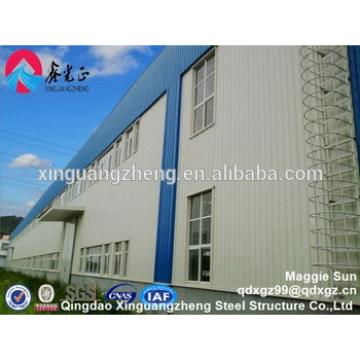 Low cost designed prefabricated modular steel frame warehouse building