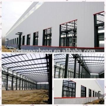 Prefabricated M shaped steel building plan steel shed drawing perfume warehouse