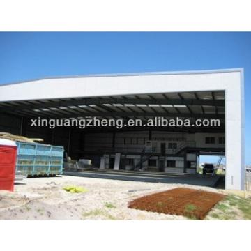 warehouse metallic roof structure heavy structural fabrication