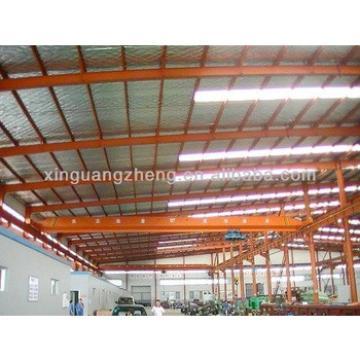warehouse metallic roof structure welding plant steel girder truss
