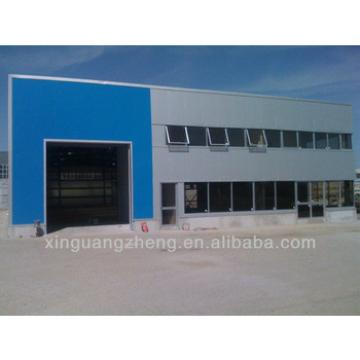 Steel structure two story building warehouse