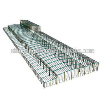 large span steel structure warehouse price