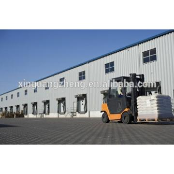 prefab steel frame wheat flour milling warehouse