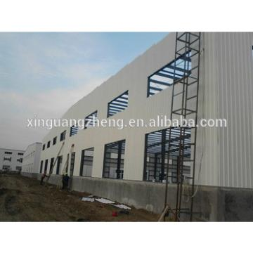 large span steel frame house construction price
