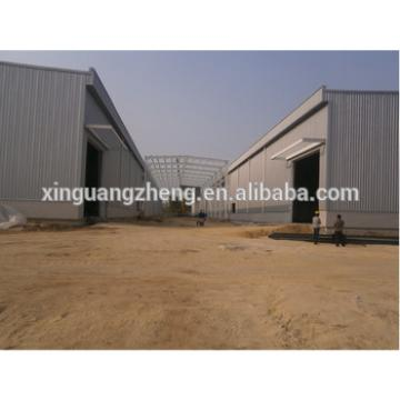 low steel structure cowshed warehouse building for sale