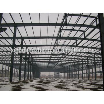modern light pre engineered steel structure warehouse