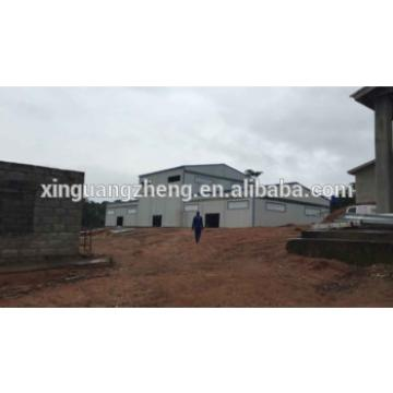 construction design steel structure prefabricated rice warehouse