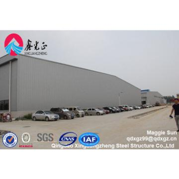 Prefab steel structure frame warehouse
