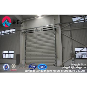 Quick build insulated large prefabricated light steel frame structure
