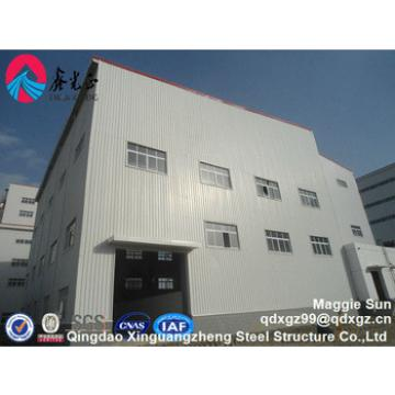 South America High quality light prefabricated construction buildings design steel structure warehouse
