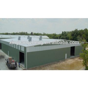 designed galvanized pre engineered fabricated steel structure building