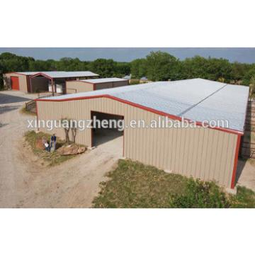 galvanized industrial building sandwich panel metal shed