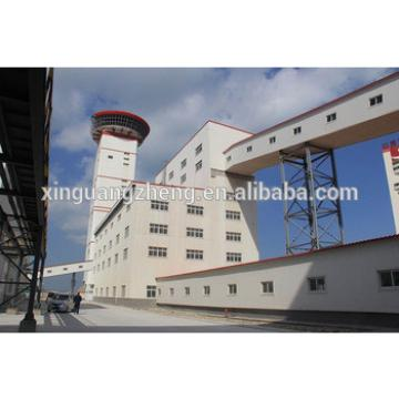 China Five floors Steel structure workshop for Tire Factory