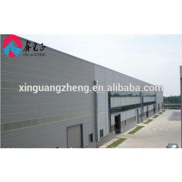 multi span steel logistics warehouse
