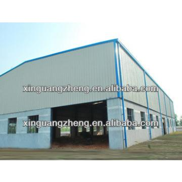 Galvanized low cost metal warehouse