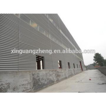 China Steel Metallic Roof Fabrication Warehouse Shed