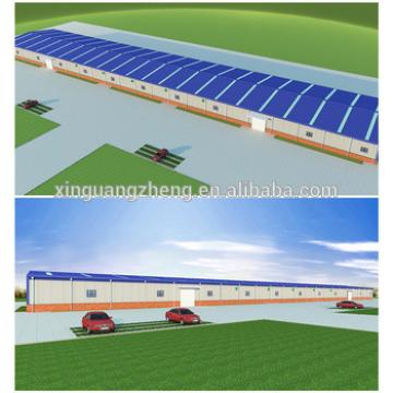 Galvanized Q345 steel china prefabricated warehouse